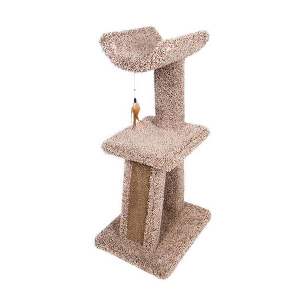Cradle and Corrugate Cat Scratching Post Assortment