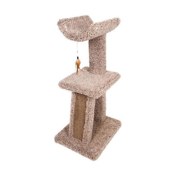 Cradle and Corrugate Cat Scratching Post