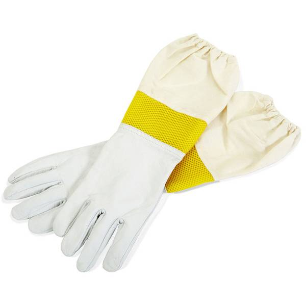 Goatskin Vented Sleeves Gloves