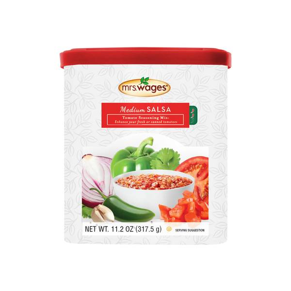 Salsa Tomato Mix Canister