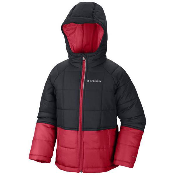 Boy's Black & Red Pine Pass Jacket