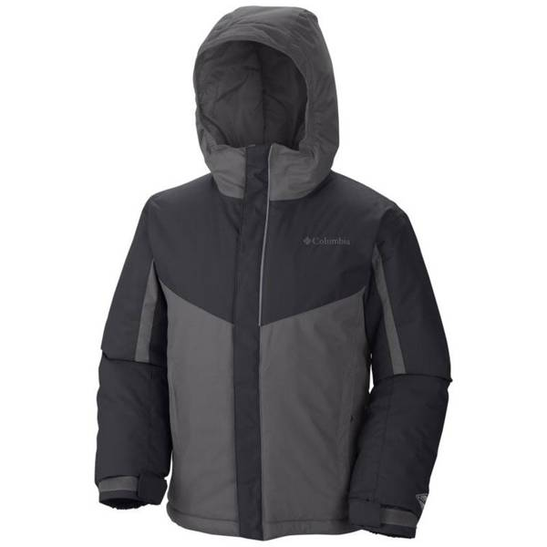 Boy's Graphite / Black Stun Run Jacket