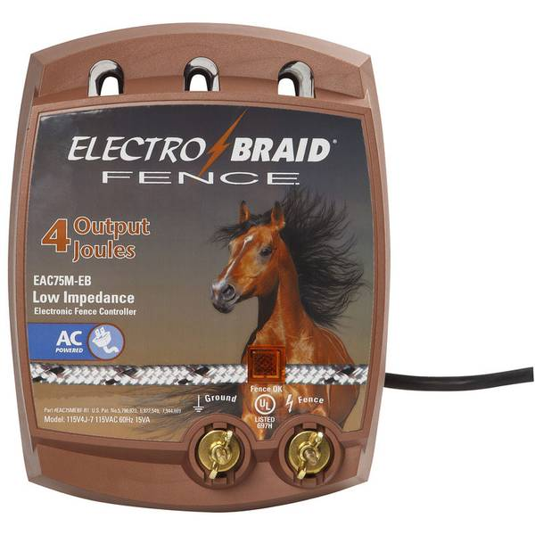Low Impedance Electronic Fence Charger