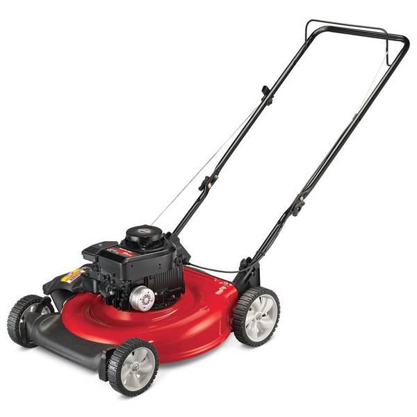 Mtd Push Mower : Yard machines by mtd cc ohv quot push mower