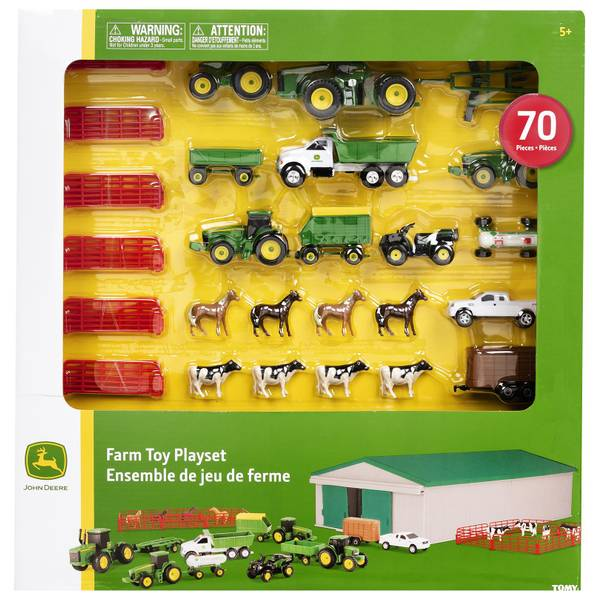 Tomy John Deere 70 Piece Farm Toy Play Set 46276v Blain S Farm Fleet