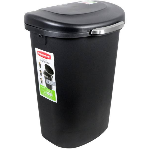 13 Gallon Touch Top Trash Can