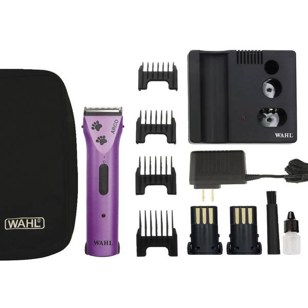 Arco Pro Purple Pet Cordless Clipper Kit