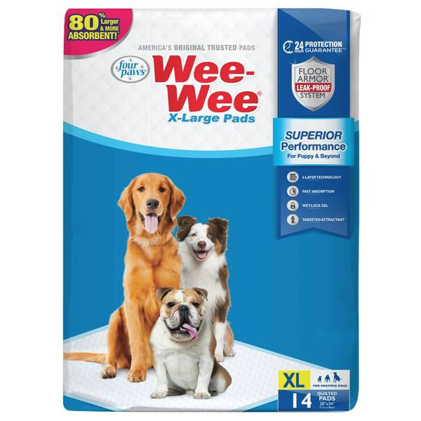 Extra Large Wee-Wee Pads
