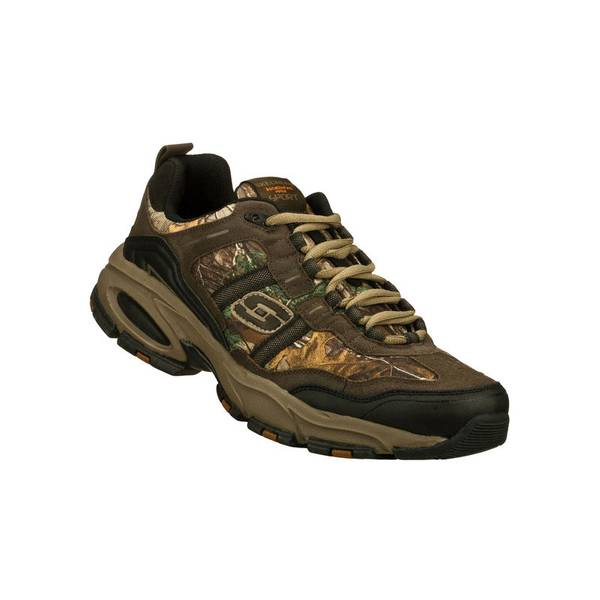 Men's Brown Camouflage Vigor 2.0 Athletic Shoes