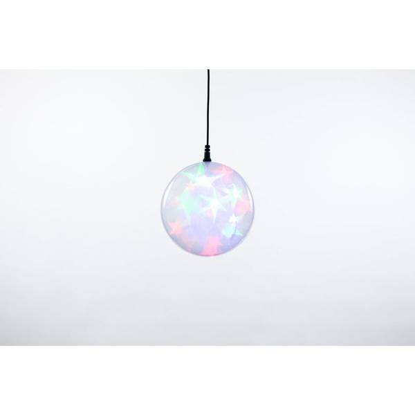 "Multicolor Plug-In 4"" LED Starfire Sphere"