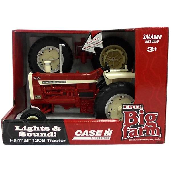 1:16 Big Farm Farmall Wide Front Tractor