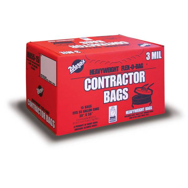 Heavyweight Flex - O - Bag 55 Gallon Contractor Bags
