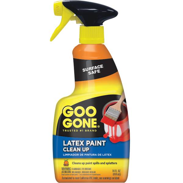 Latex Paint Clean-Up