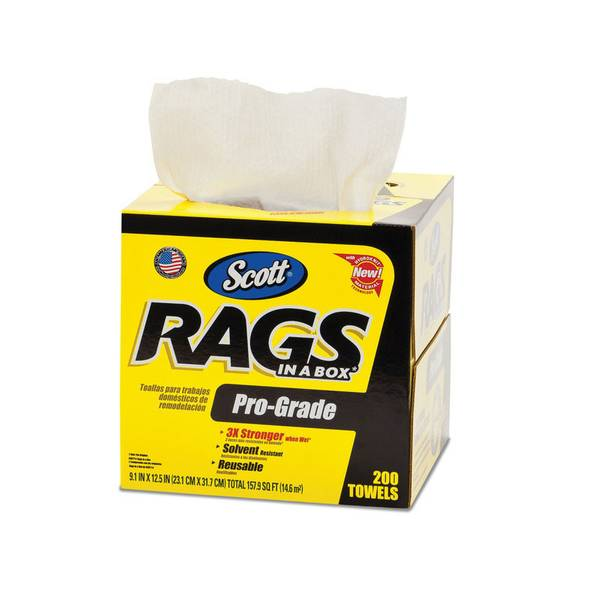 pro grade rags in a box - Box Of Rags