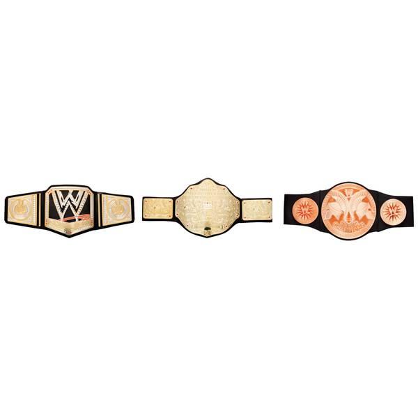 Championship Title Belt Assortment