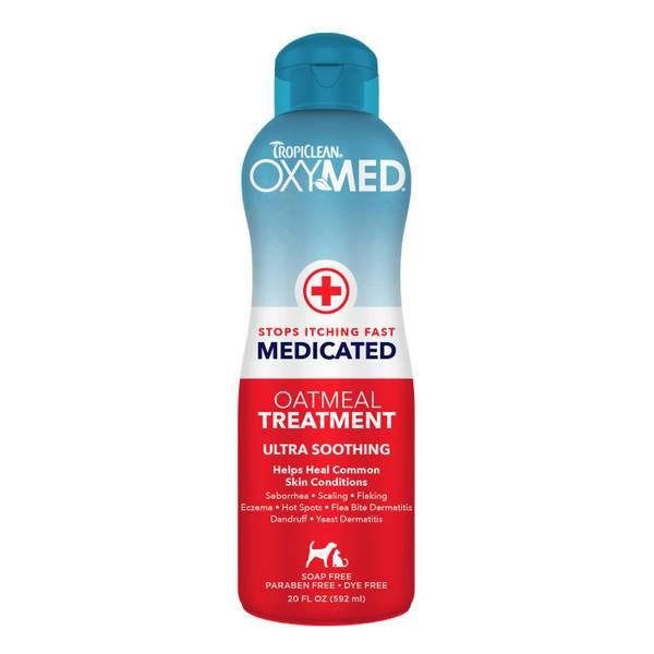 OxyMed Medicated Oatmeal Treatment Pet Shampoo