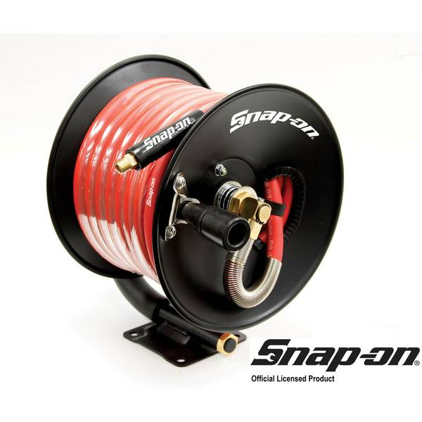Snap on quot rubber air hose reel