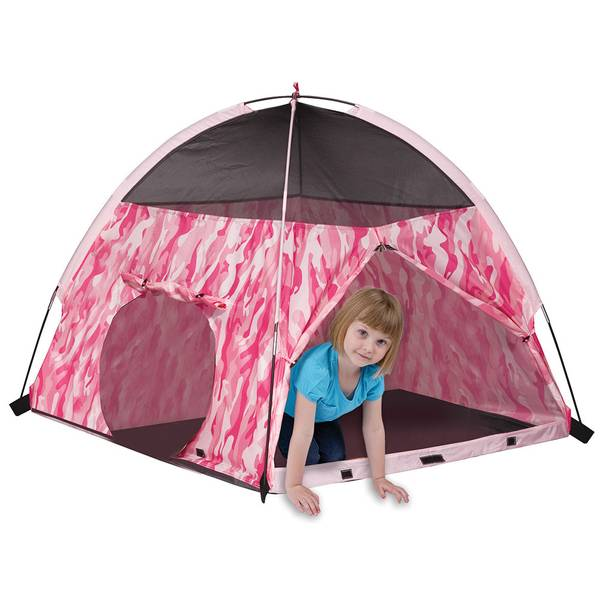 Pink Camouflage Play Tent