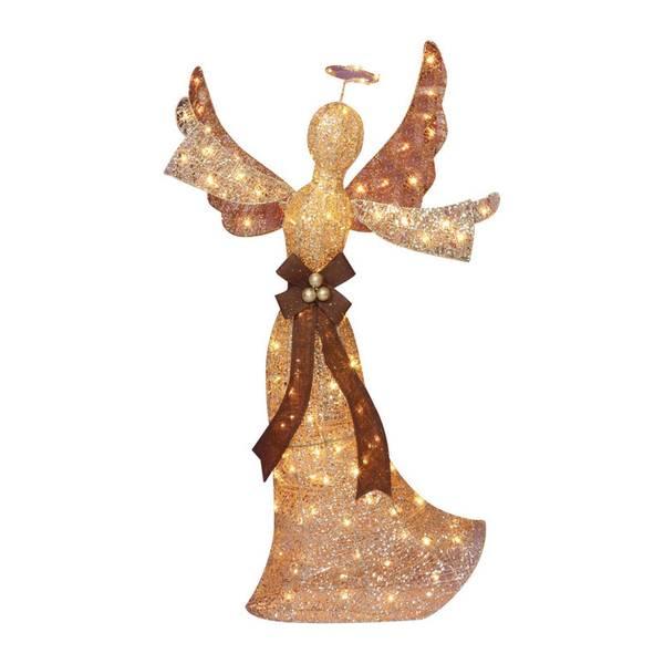 Glittering Champagne Angel