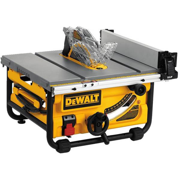 "10"" Compact Job Site Table Saw"
