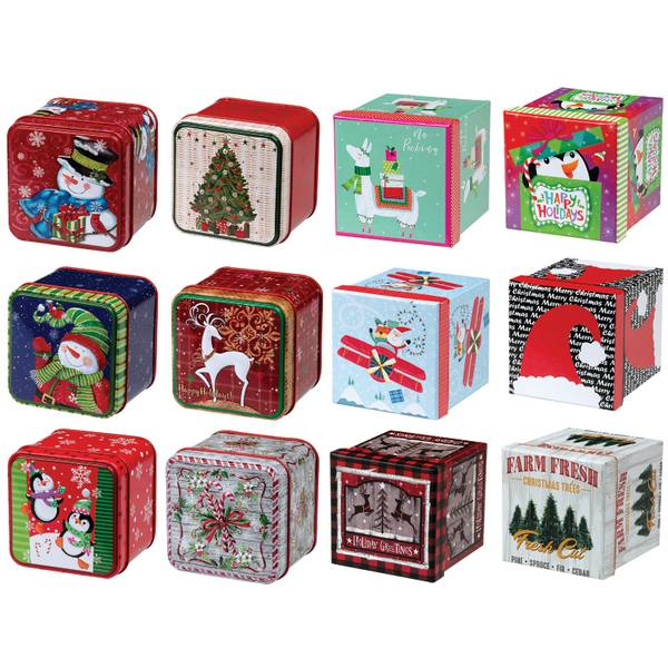 Lindy bowman co small square gift box assortment