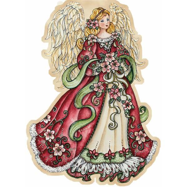 Angel Ornament Christmas Cards