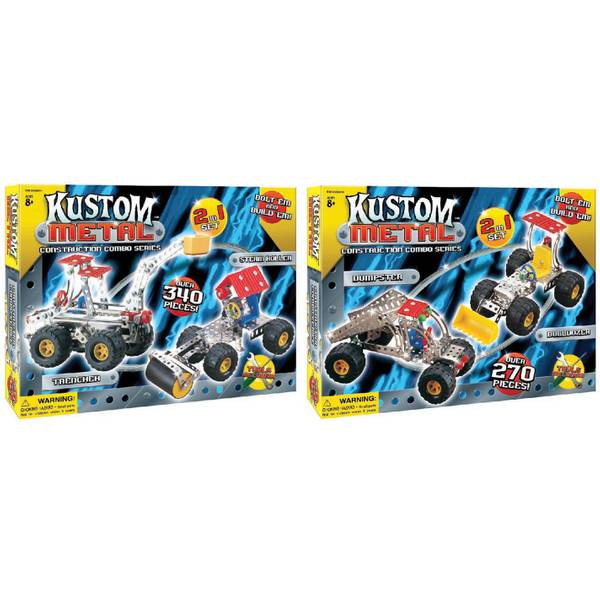 Kustom Metal Construction Kit Assortment