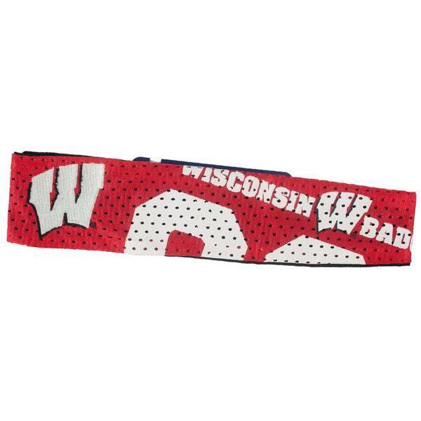 University of Wisconsin Jersey Fan Band Headband