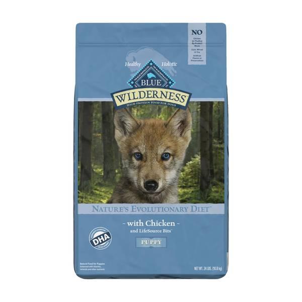 24 lb Grain Free Chicken Natural Evolutionary Diet Puppy Food