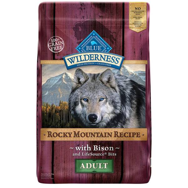Grain Free Rocky Mountain Bison Adult Dog Food