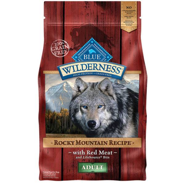 Grain Free Rocky Mountain Recipe with Red Meat Adult Dog Food