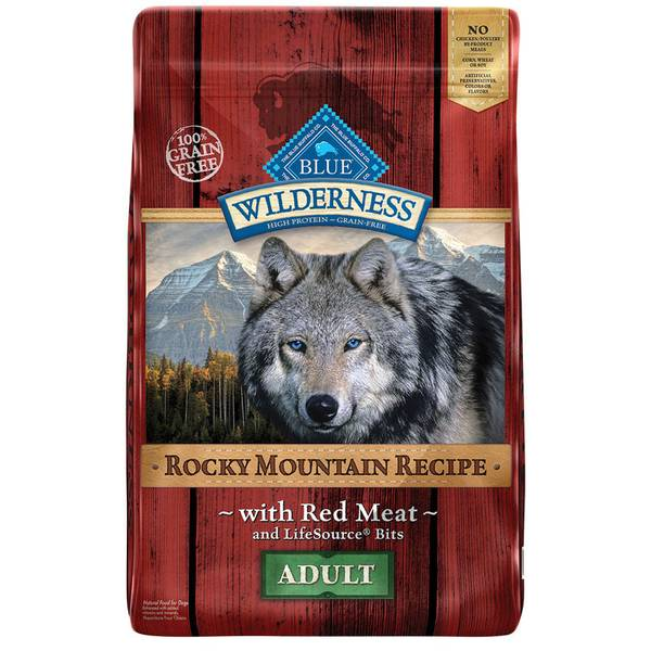 22 lb Grain Free Rocky Mountain Recipe with Red Meat Adult Dog Food