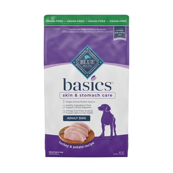 Basics 24 lb Grain Free Turkey & Potato Recipe Dog Food