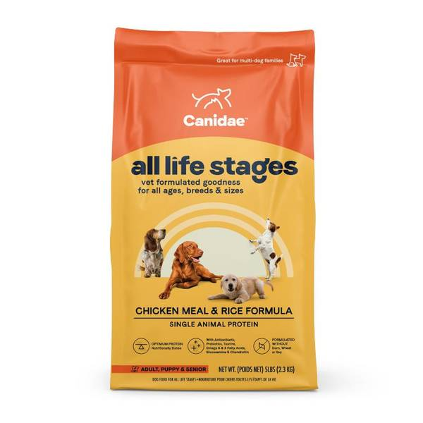 Life Stages Chicken & Rice Dog Food