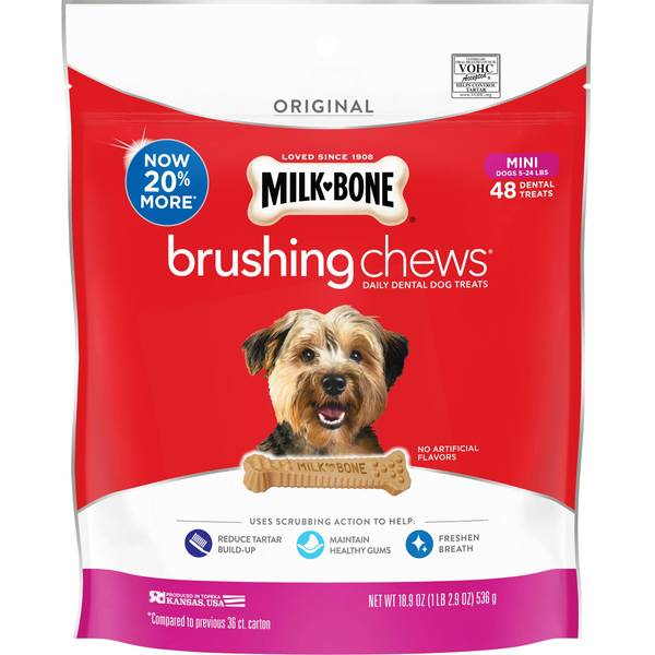 Brushing Chews Daily Dental Treats