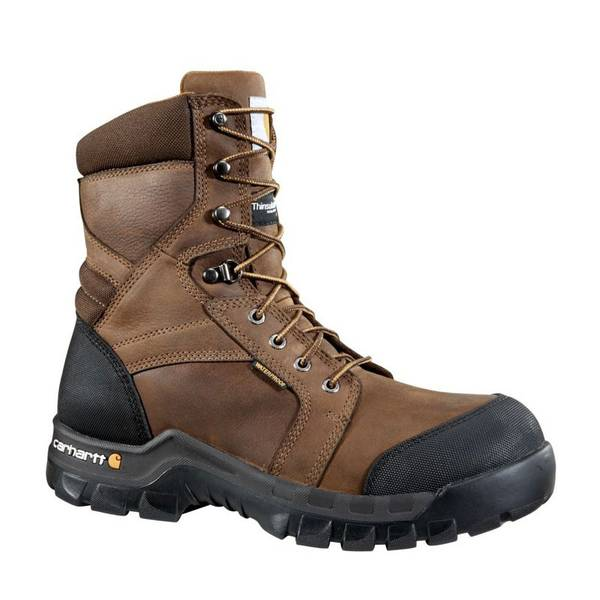 "Men's 8"" Rugged Flex Insulated Composite Toe Work Boot"