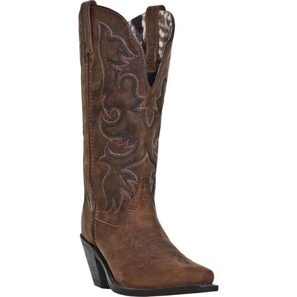 Laredo Women's Tan Western Boots At Blain's Farm & Fleet