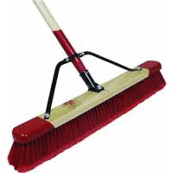Medium Rough Push Broom