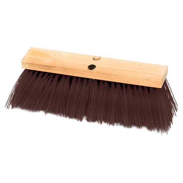 "16"" Assembled Street Broom"