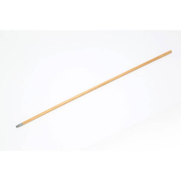Metal Tip Wood Broom Handle