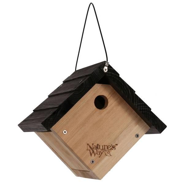 Nature's Way Cedar Wren Hanging Bird House (850715 CWH1) photo