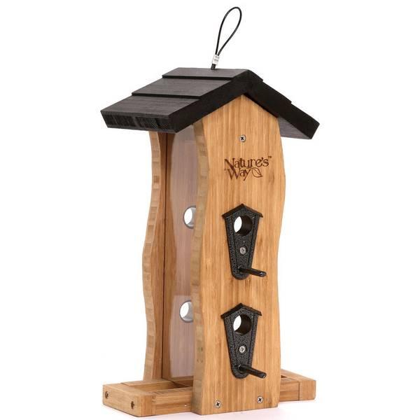 Triple Gazebo Bird Feeder