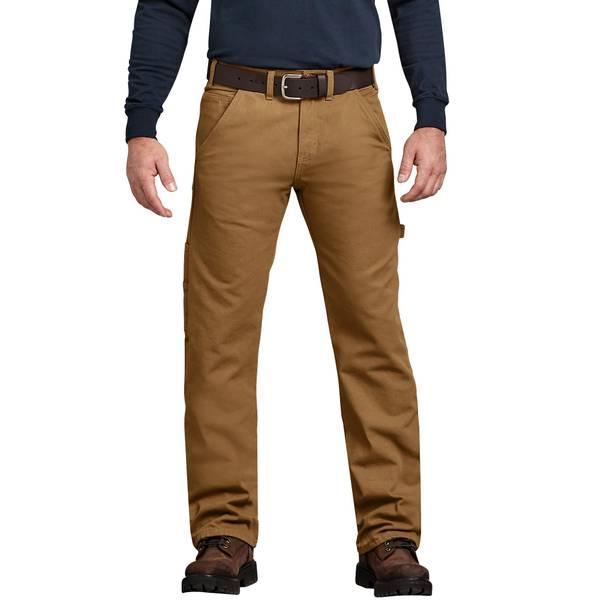 Men's Flannel Lined Carpenter Jeans