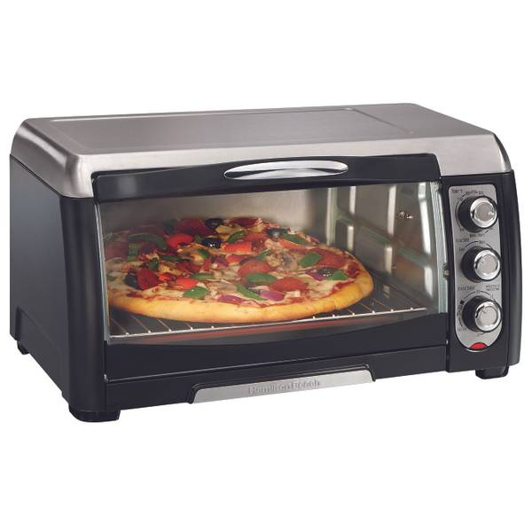Hamilton Beach 6 Slice Capacity Toaster Oven