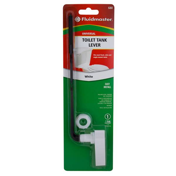 Standard Toilet Handle, White