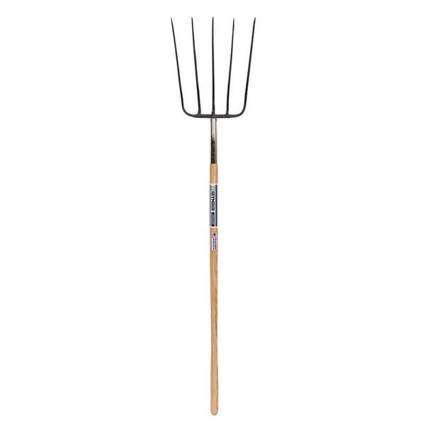 5 - Tine Forged Barley Straw Fork