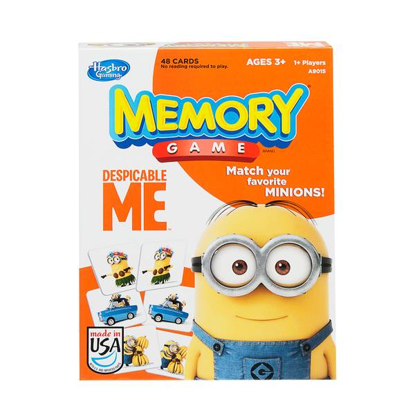 Licensed Card Matching Memory Game Assortment