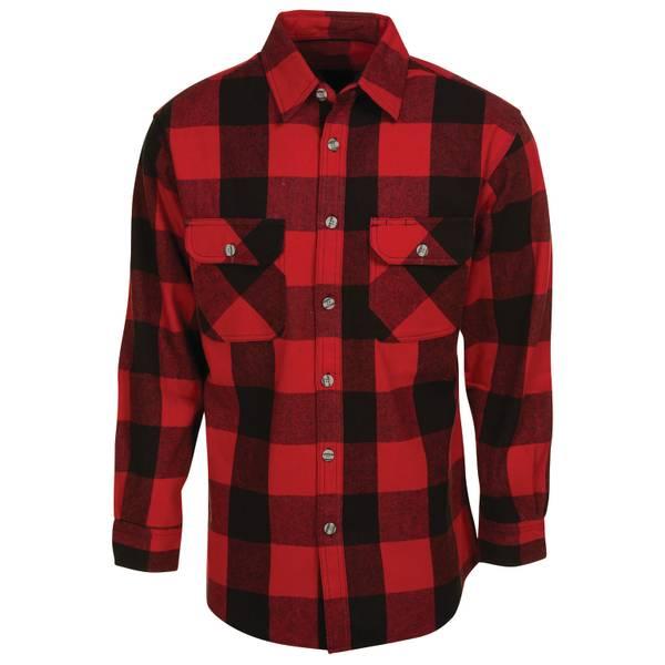 Men's Brawny Flannel Shirt
