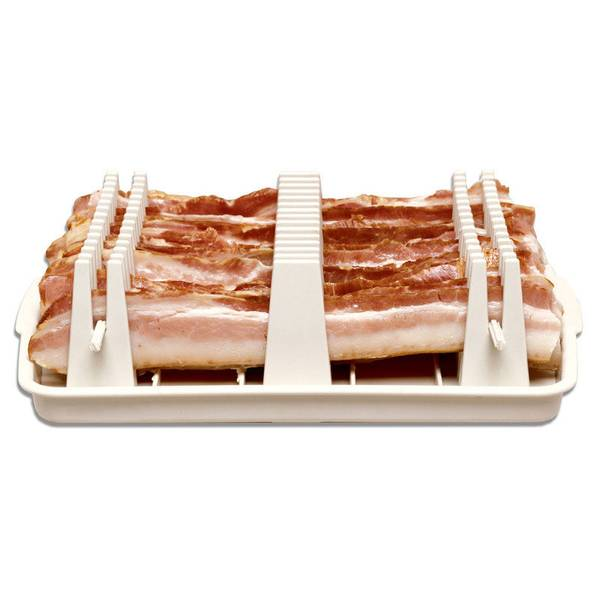 As Seen On Tv Bacon Wave Microwave Bacon Tray