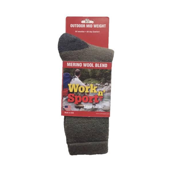 Men's Merino Wool Blend Sock